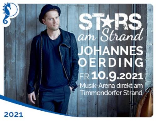 Stars am Strand - Johannes Oerding