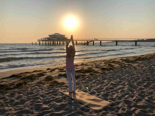Yoga Walk entlang der Strandpromenade - FÄLLT AUS