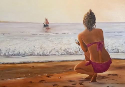 """Ausstellung """"Meer-Ansichten"""" von ChrisTine Löwa"""